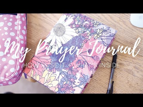 What's Inside My Prayer Journal + How I Use It!