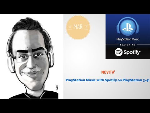 PlayStation Music with Spotify!