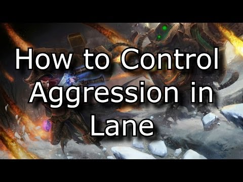 How to Control Aggression in Lane: An Advanced Laning Concept | League of Legends LoL