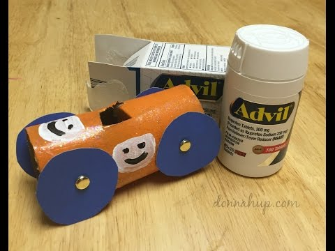 DIY Toilet Paper Roll Race Cars Tutorial