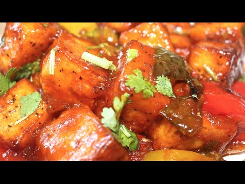 Chilli Paneer Recipe-Chilli Paneer /Cottage Cheese Recipe- Make Restaurant Style