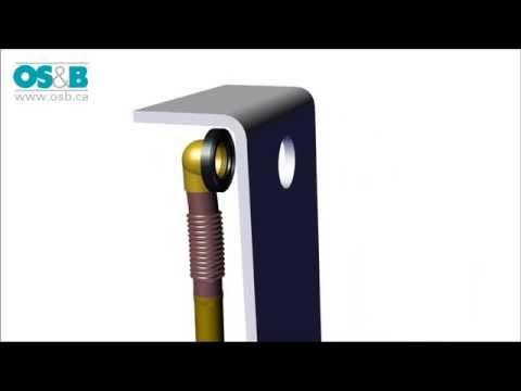 OS&B R-314 Series Bath Drains Installation Video