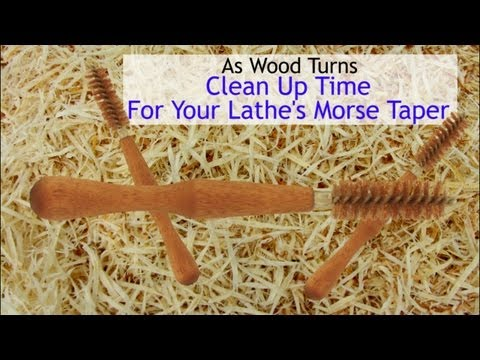 Clean Up Time For Your Lathe's Morse Taper