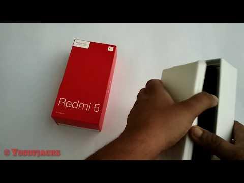 Redmi 5 unboxing first sale unit  🇮🇳