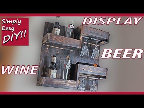 DIY Wine & Beer Rack