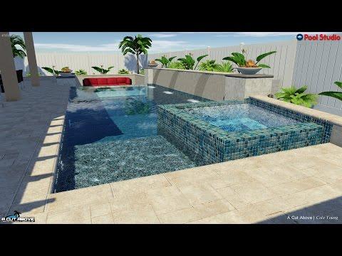 A Cut Above Pools 3D Pool Studio Design - Lindblad