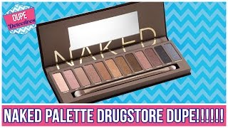 BEST Naked Palette Drugstore Dupes | Dupe Detectives w/ the Merrell Twins
