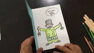 ART TROOPER EP 07: HOW TO MAKE  HARI RAYA CARD