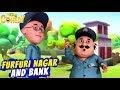 Motu Patlu EP48A Furfuri Nagar Bank Funny Videos For Kids Wow Kidz Comedy