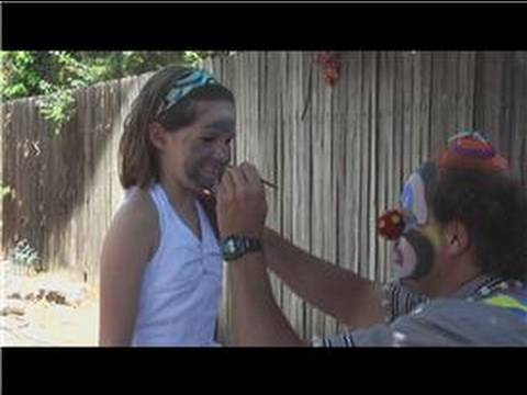 Face Painting for Kids : How to Face Paint a Mouse