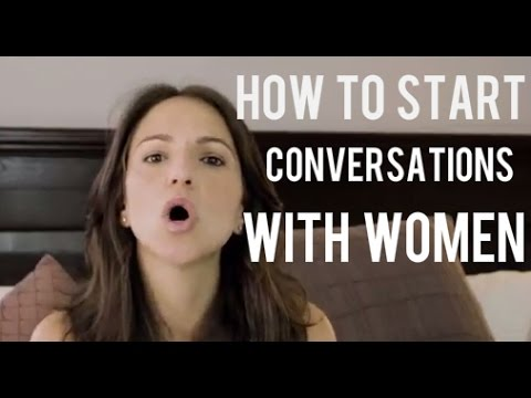How To Start A Conversation With A Woman (O.S.A Part 1)