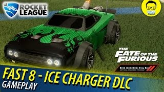 New Fast 8 Ice Charger DLC Review - Rocket League Fast & Furious DLC-