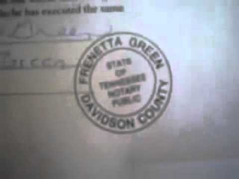 Affidavit of Truth Right to Travel   Notarized Documents