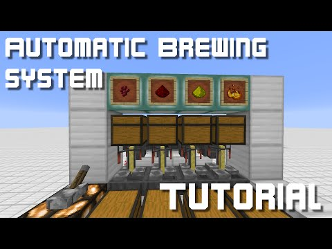 Automatic Brewing station - Tutorial (Minecraft 1.8 / 1.8.8)