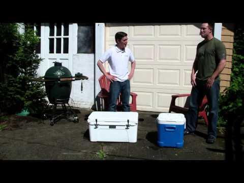 YETI Ice Melt Test (YETI vs IGLOO)