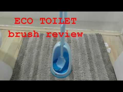 Eco Toilet Brush REVIEW AMAZING cleaning with RIM Bristles