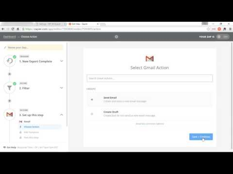 WP All Export & Zapier: Automatically E-mail Exported Data
