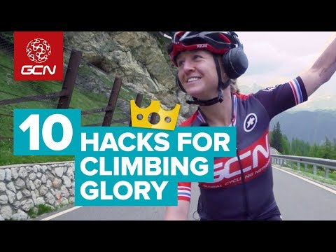 10 Hacks For Faster Climbing | How To Cycle Faster Uphill