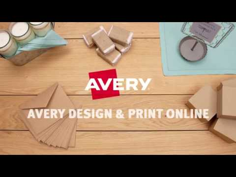 Easily Personalize and Print Avery® Products with Free Avery Design & Print Online