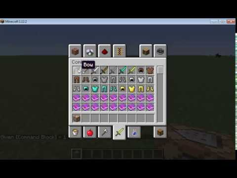 Minecraft How To Make Lightning Bow & Fire Bow