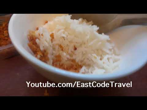 chili paste The real Thai food many  never known