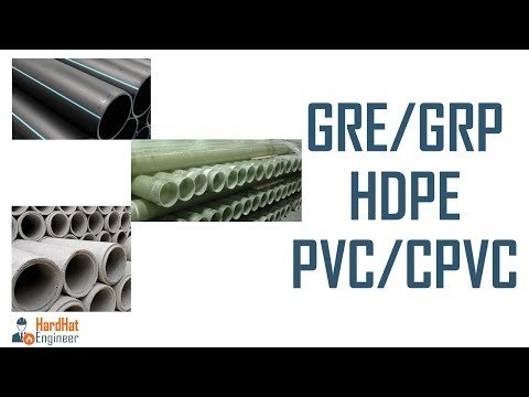 Non-Metal GRE/GRP, PVC/CPVC Cement, HDPE- Piping Training Video-6