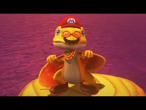 Super Mario Odyssey - Walkthrough Part 7 - Lost Kingdom All Moons & Coins
