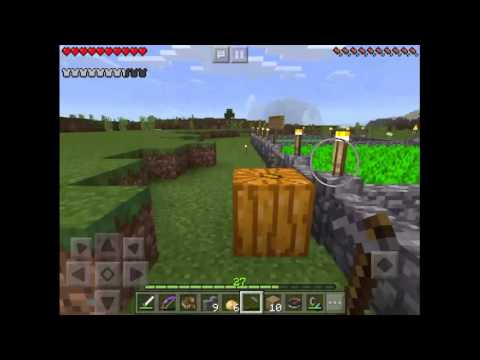 How to plant potatoes in minecraft pe