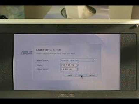 How quick can you factory restore an Asus Eee PC