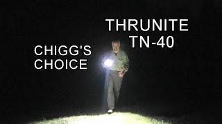ThruNite TN40 Flashlight: Powerful and Versatile