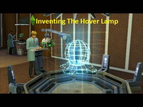 The Sims 4 Get To Work  Inventing The Hover Lamp