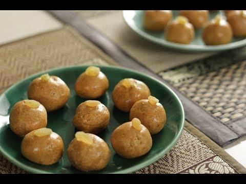 Besan ke Laddoo   Family Food Tales with Mrs Alyona Kapoor   Sanjeev Kapoor Khazana