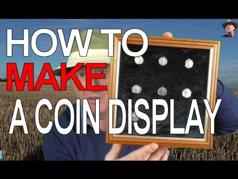 How to make a presentation coin frame
