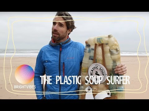 How one man fights against plastic pollution