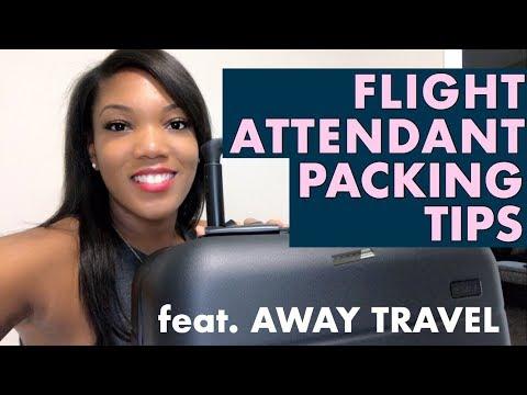 Flight Attendant Packing Tips | Away Travel