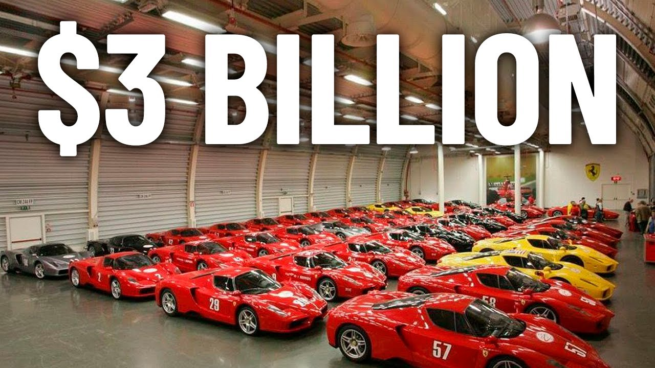 The World's Most Expensive Car Collection
