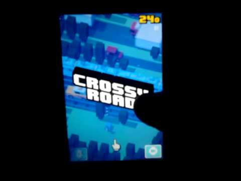 Crossy road game play #1 unlocking nessie
