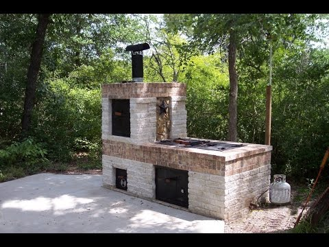 Building a Brick BBQ Smoker