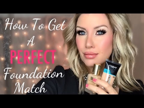 Find Your PERFECT Foundation Shade! Tips for Matching and Custom Blending