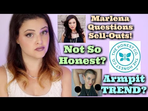 What's Up in Makeup NEWS! Sold Out? Marlena Says NO WAY! Honest Company SUED! New Trend for ARMPITS