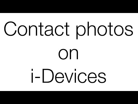 Show Contact Photos On iPhone Messages 2016