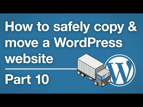 How to copy & move a WordPress site - Running the Duplicator installer - Part 10