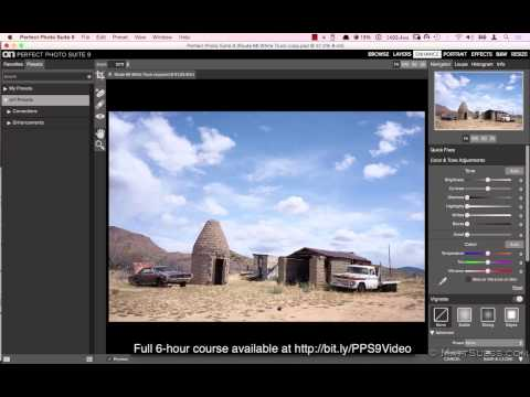 Enhance Module when to use - FREE video from my Perfect Photo Suite 9.5 Online 6-hour Training Video