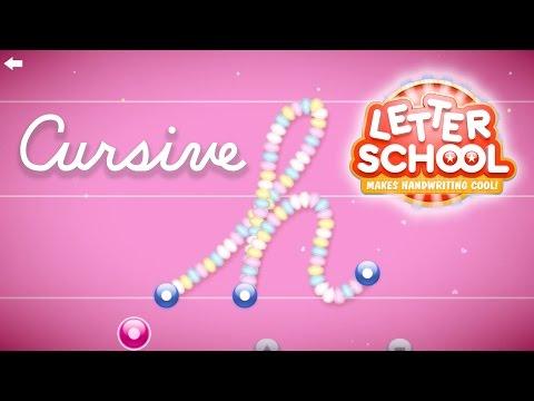 LetterSchool Cursive Writing: Kids Education App