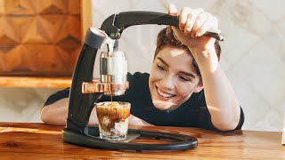Making Espresso Without A Machine? + Cookie Butter Affogatos (Flair Pro 2 Review)