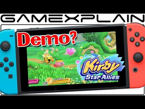 A Google Ad for Kirby: Star Allies Suggests a Demo is Coming Soon