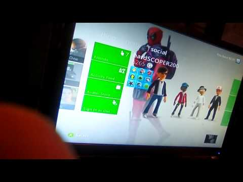 how to change your xbox 360 theme to anything!!