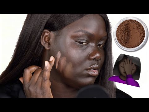 Trying Powder Foundation for the First Time || Nyma Tang