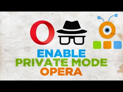 How to Enable Private Mode in Opera Browser