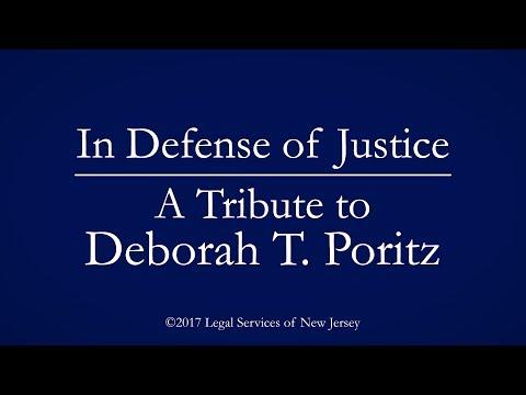 In Defense of Justice: A Tribute to Deborah Poritz